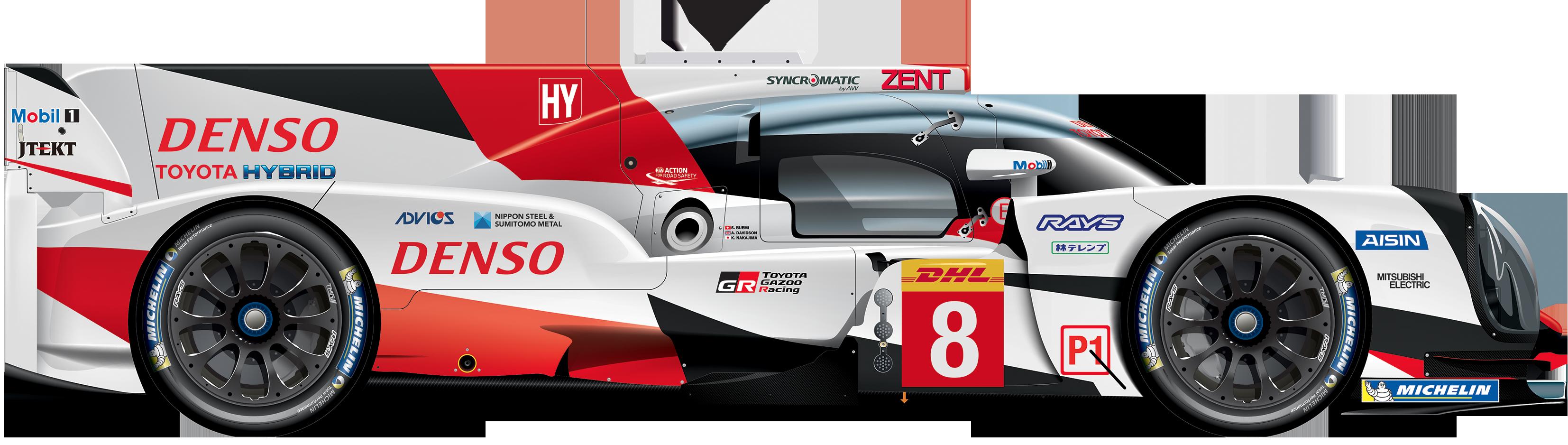 Toyota 86 Livery >> #8 - Toyota TS050 - Hybrid - FIA World Endurance Championship