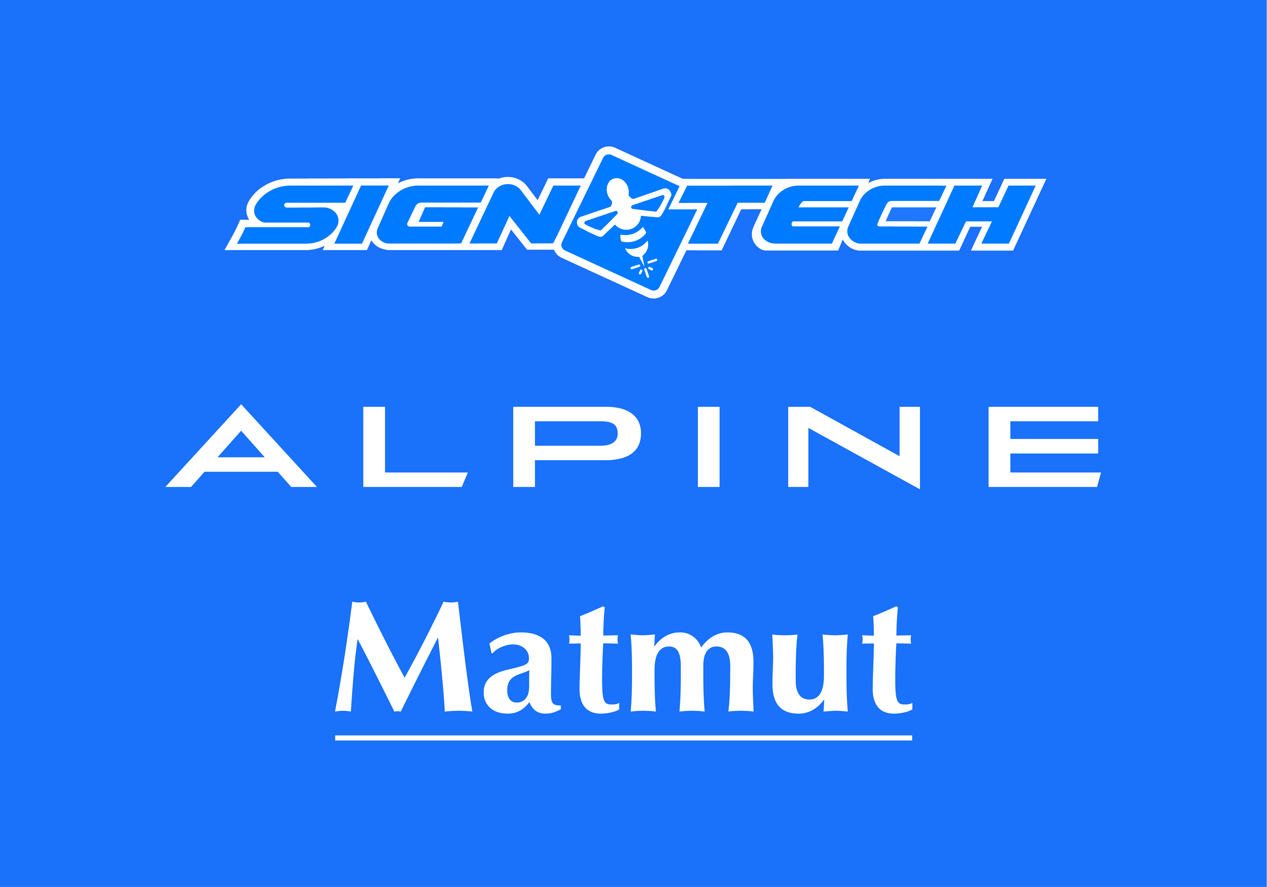 SIGNATECH ALPINE MATMUT